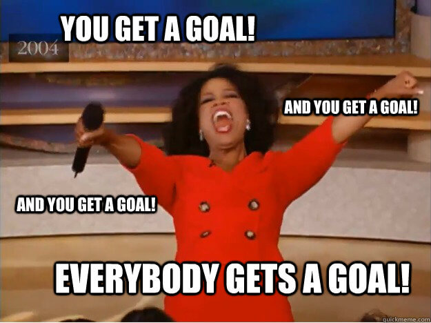 Everybody Gets a Goal Meme
