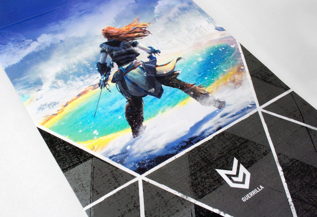 Horizon Zero Dawn - Festive Edition - Inside Packaging Close up