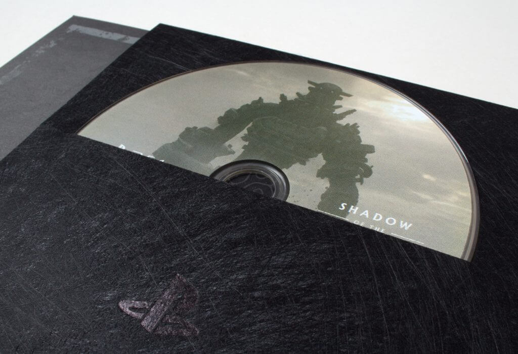 Shadow of the Colossus - Disc Close up