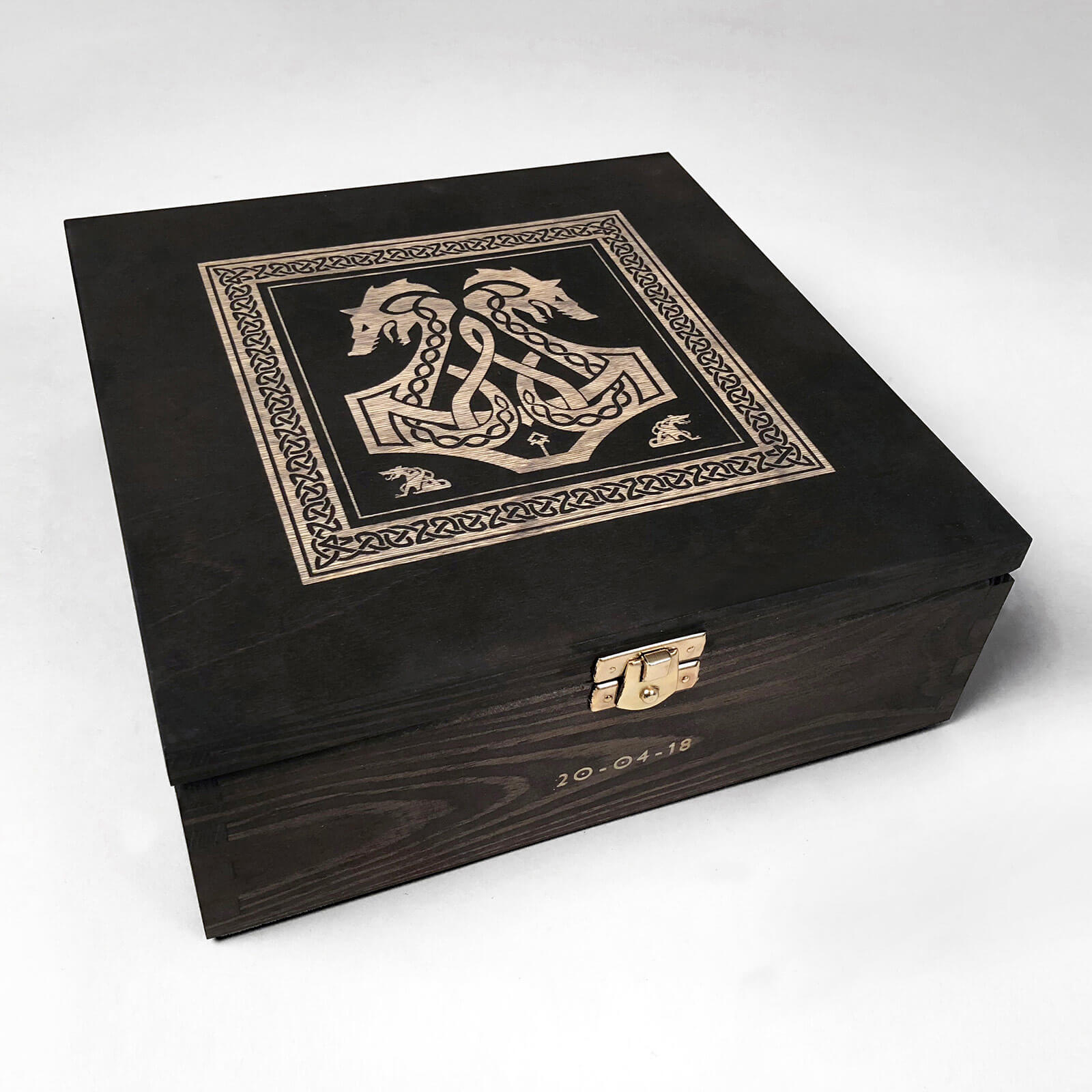 god of war wooden box