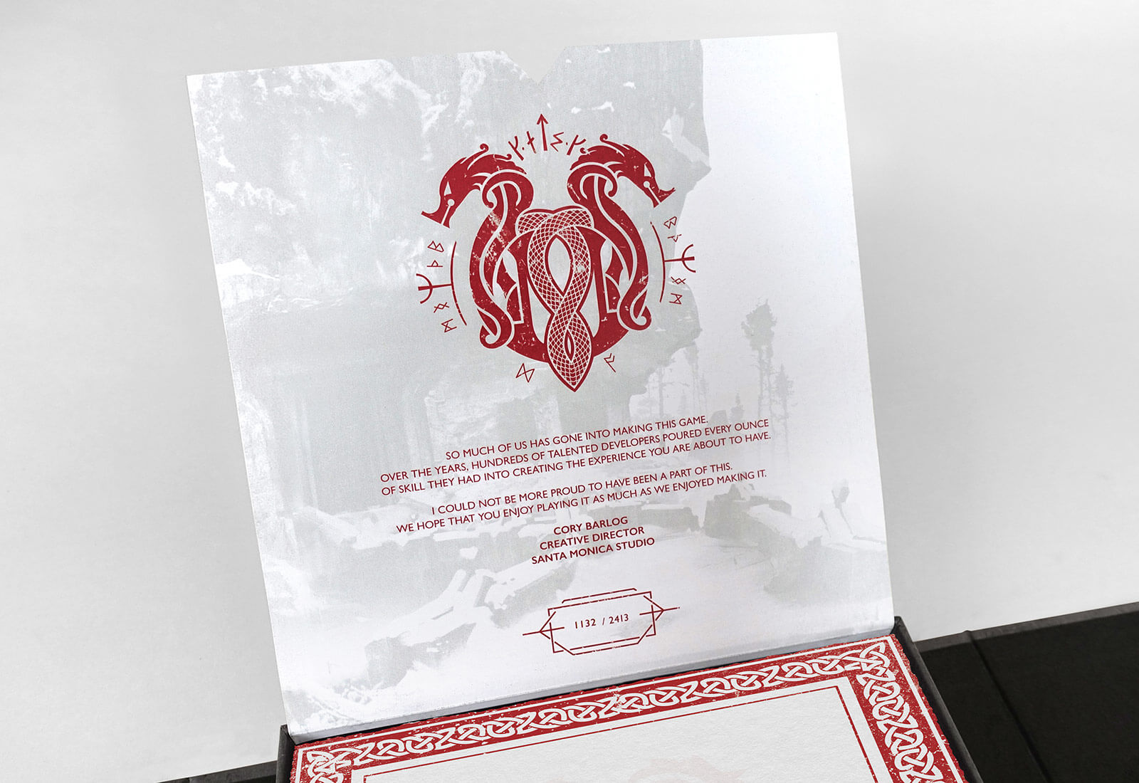God Of War Media Kit - Close up
