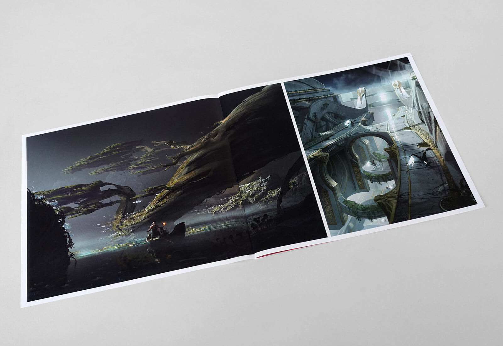 God Of War Media Kit - Booklet