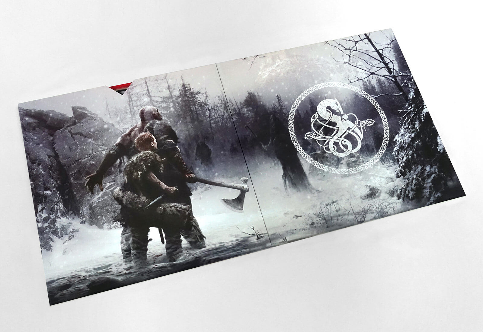 God Of War Media Kit - Booklet & Disc