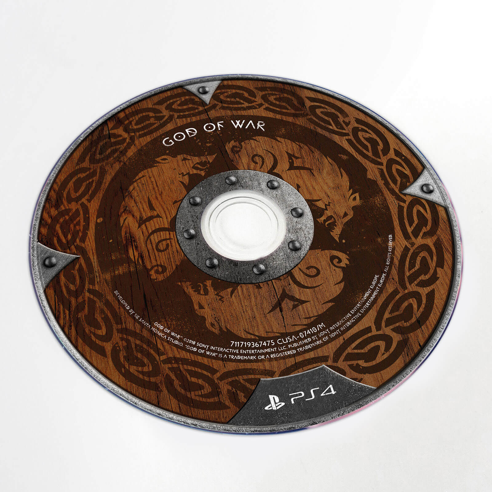 God Of War Media Kit - Disc