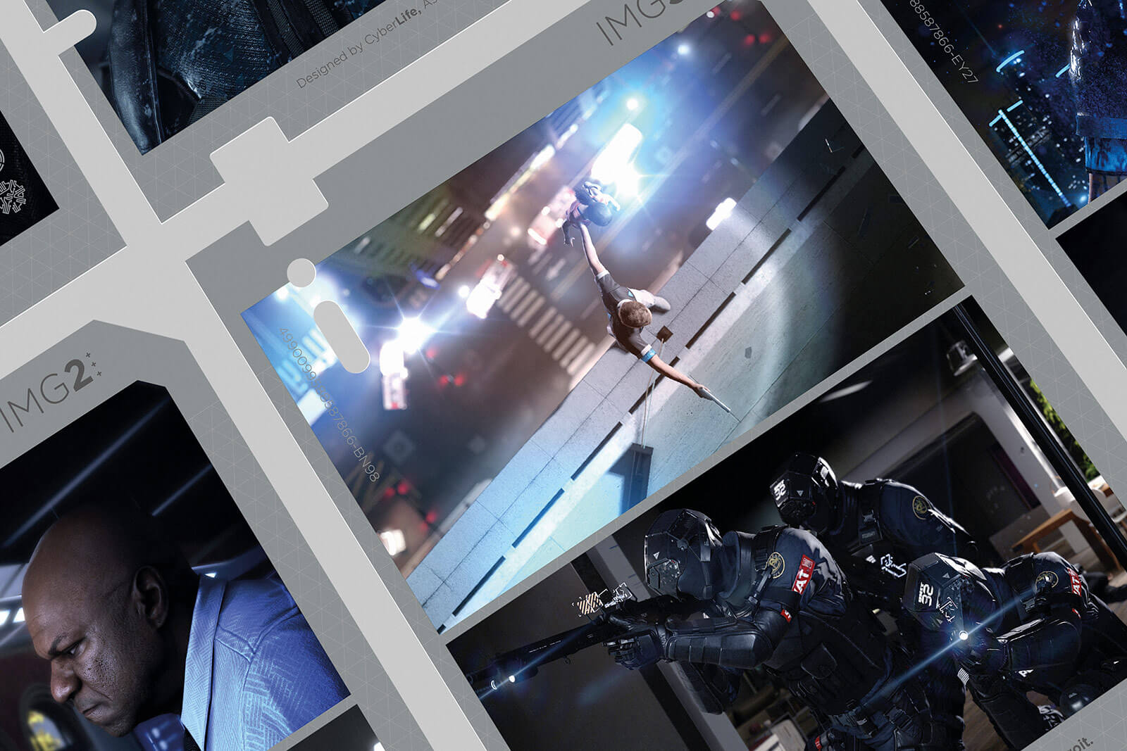 Detroit Become Human Media Kit