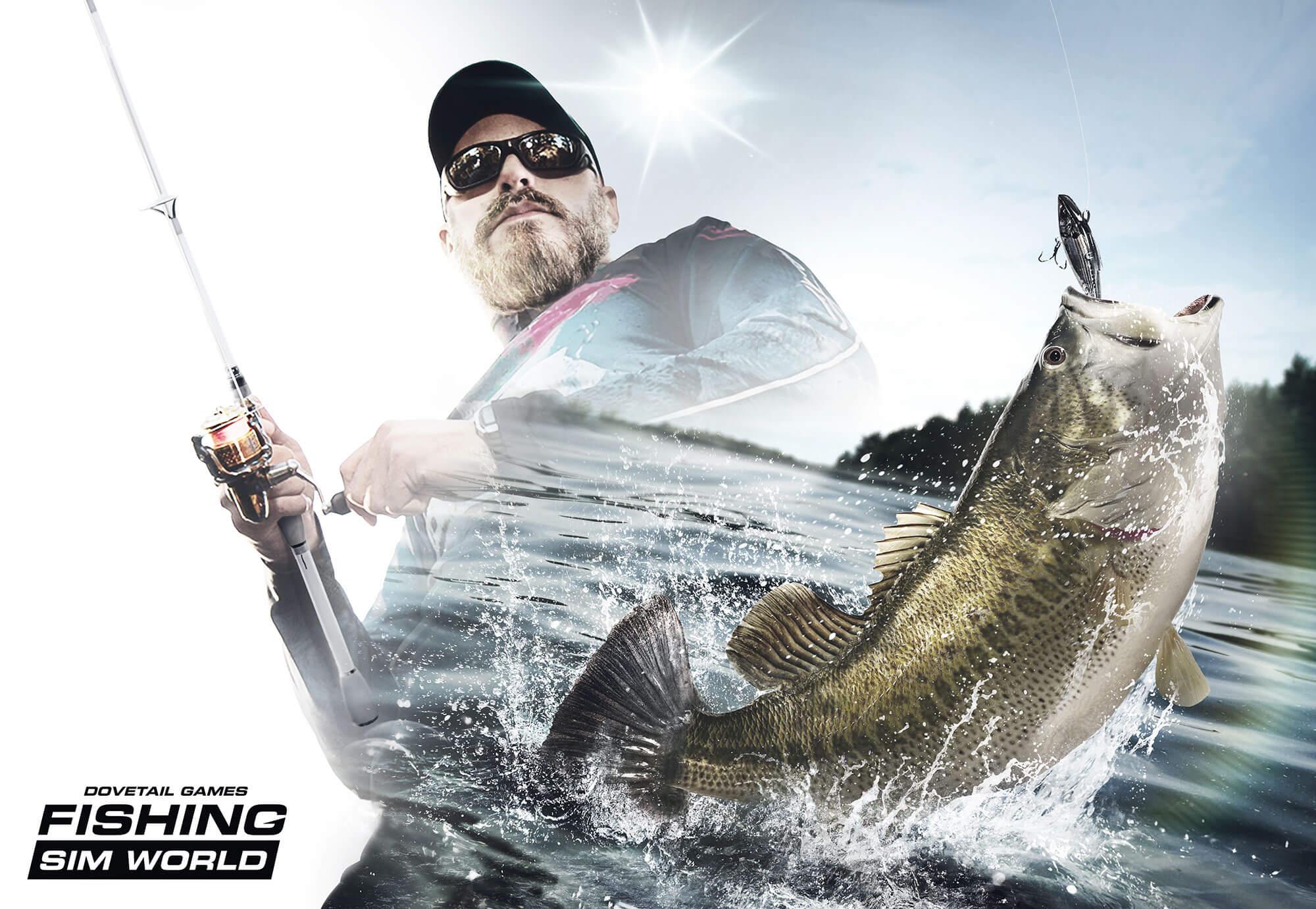 Fishing Sim World key art