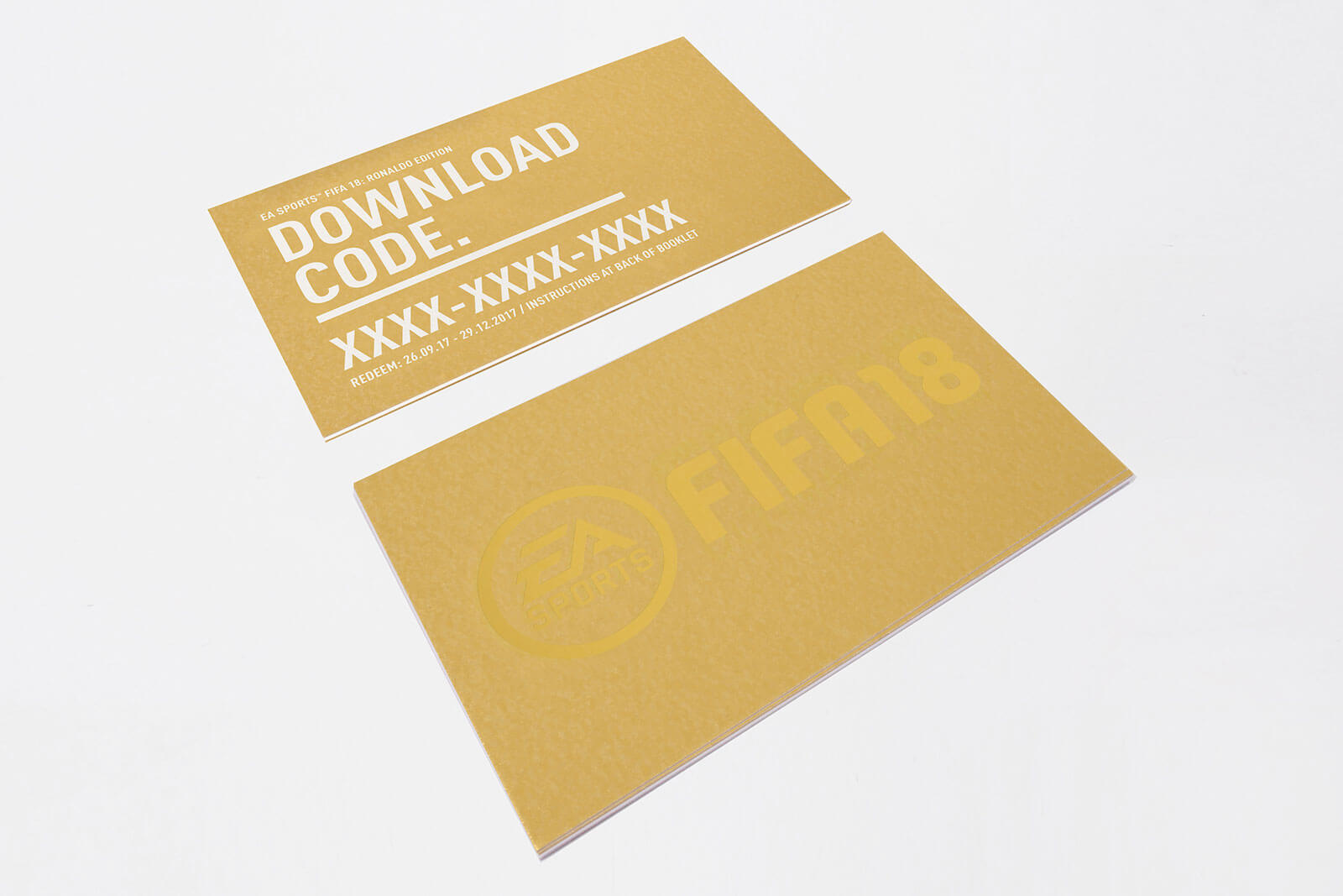 FIFA 18: Media Kit - Voucher Cards