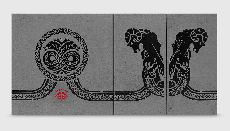 god of war - nordic insignia