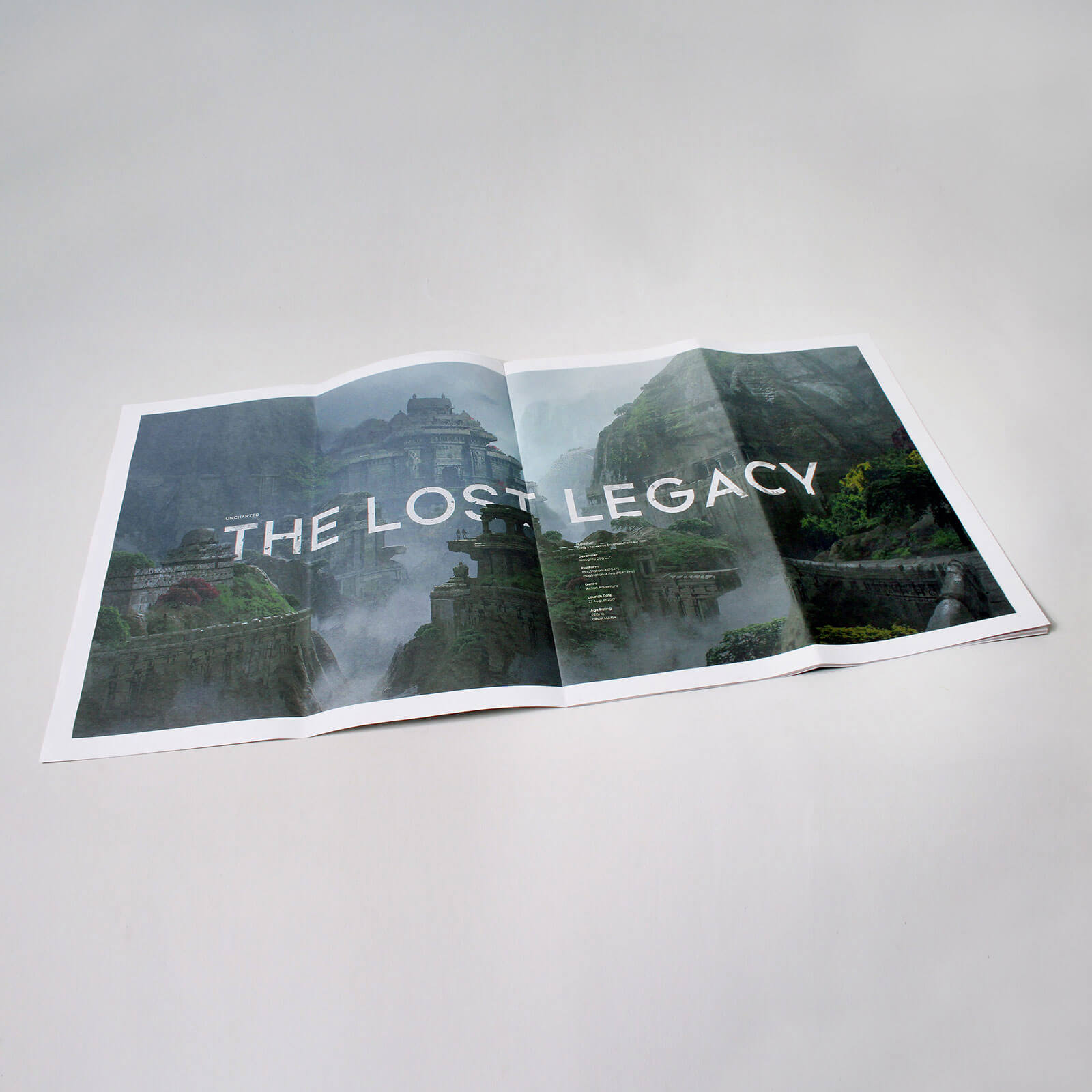 Uncharted: The Lost Legacy - Media Kit - Newspaper