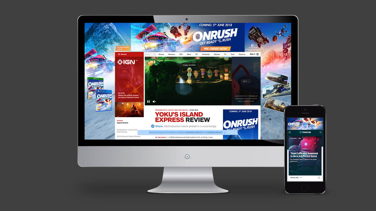 Onrush Digital Campaign