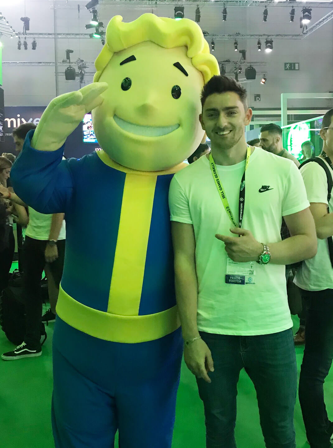 Gamescom: Vault Boy