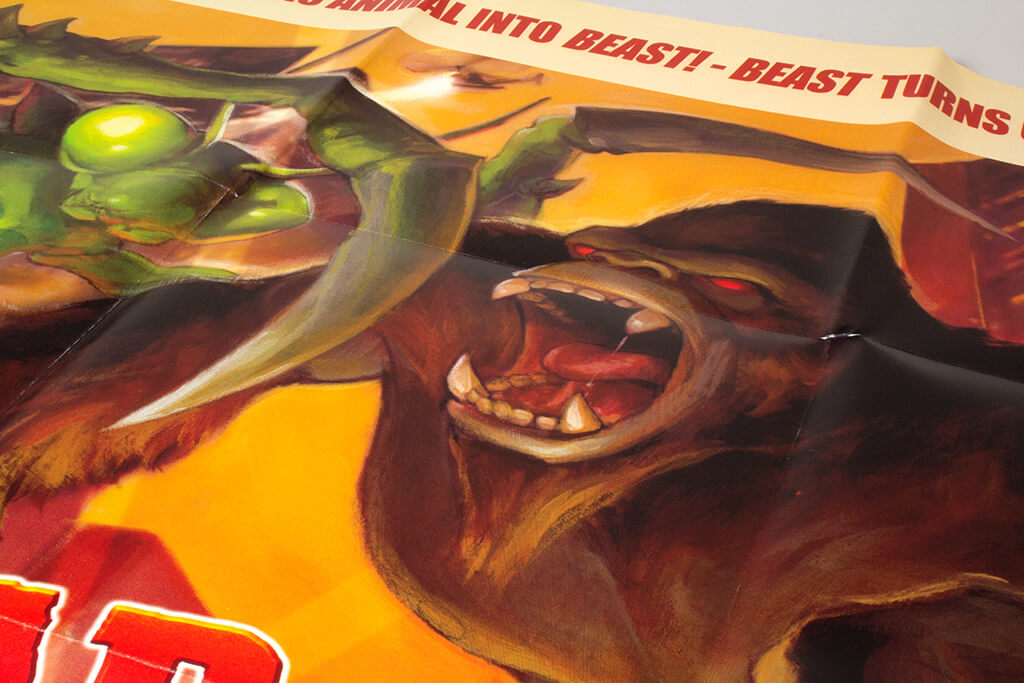 War of Monsters media kit poster close up