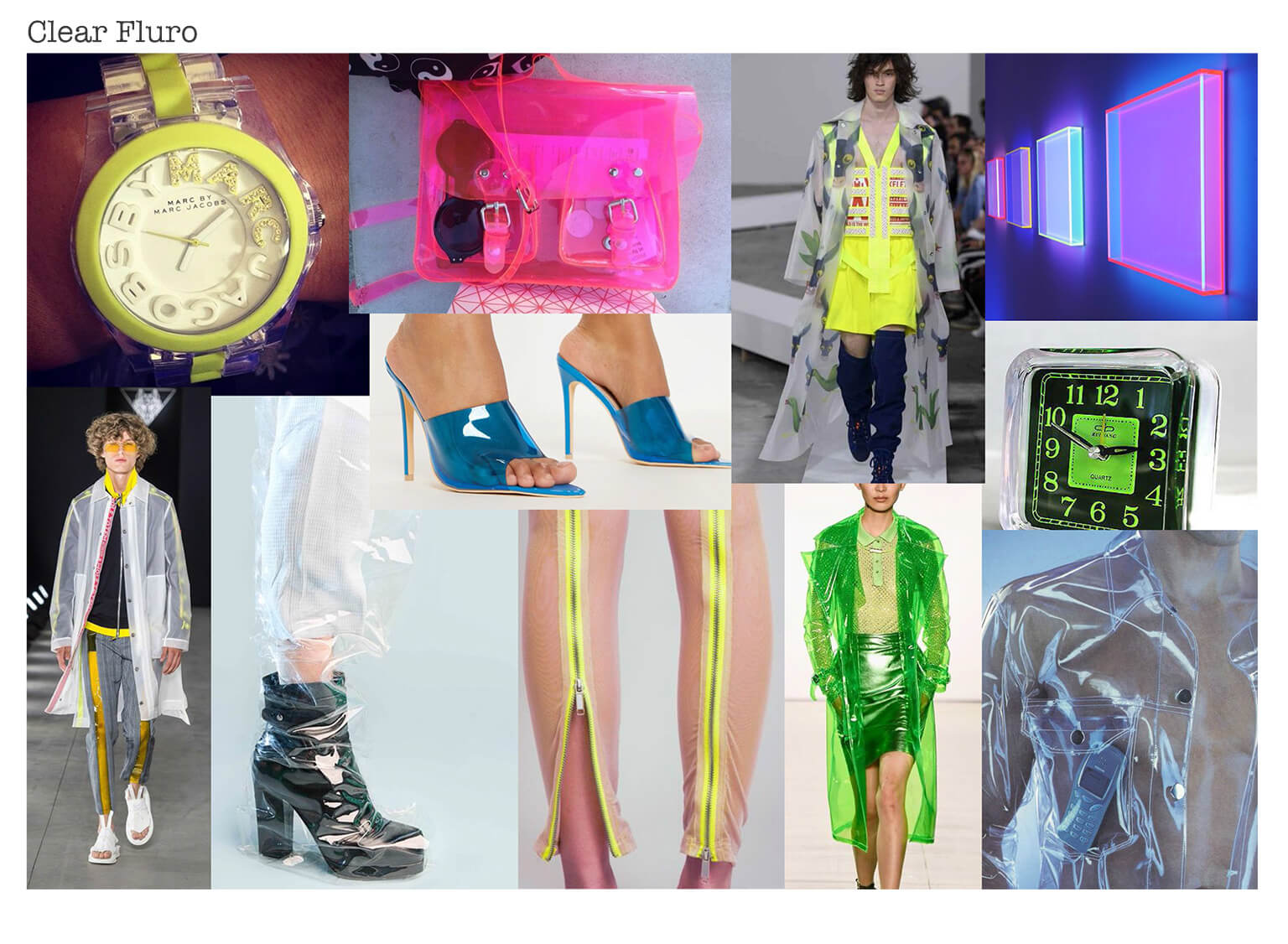 clear fluro trend board